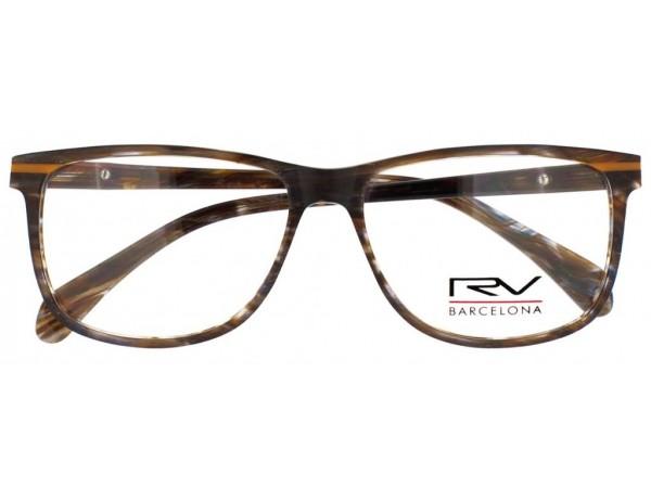 Dioptrické okuliare RV346 Brown - 1