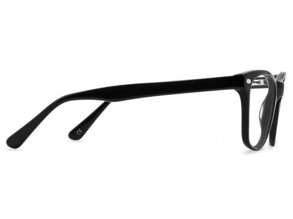 Unisex doptrické okuliare Mogul Black