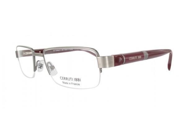Pánske dioptrické okuliare CERRUTI CE6075 Silver-1