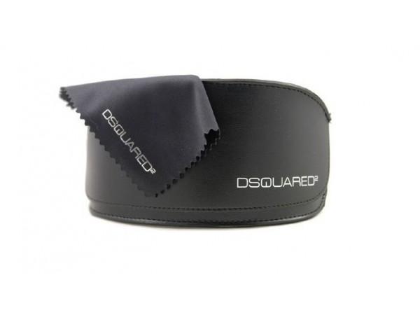 Unisex dioptrické okuliare DSQUARED2 - púzdro