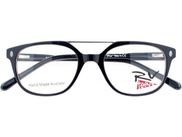 Detské dioptrické okuliare RV teen´s Black -b