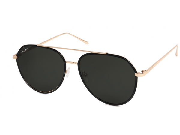 Slnečné okuliare POLAR Club1 Black&Gold 2