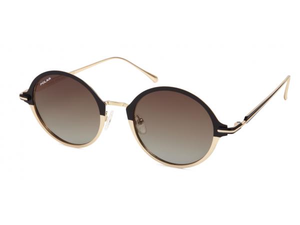 Slnečné okuliare POLAR Club3 Black&Gold