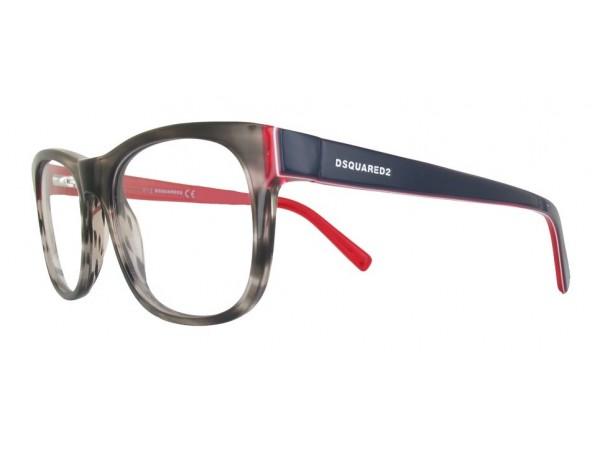 Unisex dioptrické okuliare DSQUARED2 DQ5217