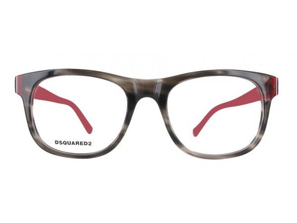 Unisex dioptrické okuliare DSQUARED2 DQ5217 -a