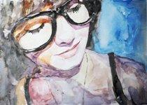 Dievča v okuliaroch