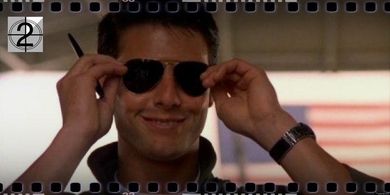 Top Gun - okuliare aviator